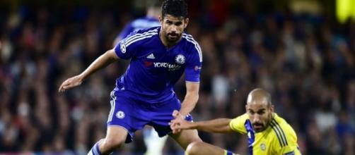 Diego Costa attaccante del Chelsea