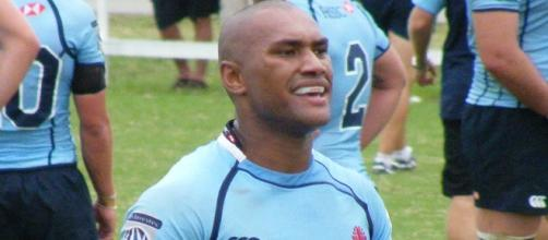 Nadolo scored a try and was a constant threat