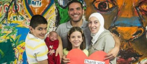 Talal veio da Síria com a família