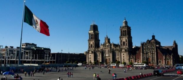 Centro Histórico de la Ciudad de México.