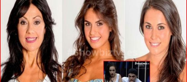 Maité, Sofía y Raquel ¿son algo más qué nominadas?