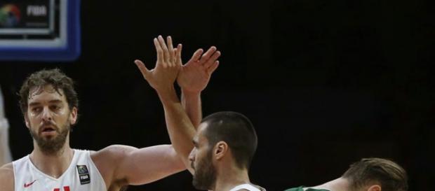 MVP. Gasol terminó con 25 pts y 12 rebotes