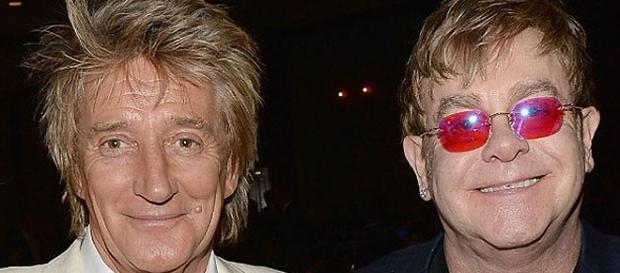 Rod Stewart e Elton John juntos no Rock in Rio