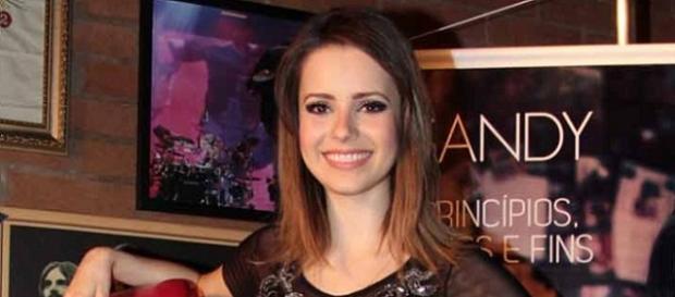 Sandy vai gravar novo DVD no Rio de Janeiro