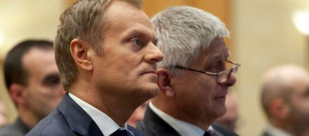 Tusk zabrał Polsce prawo weta w kwestii uchodźców
