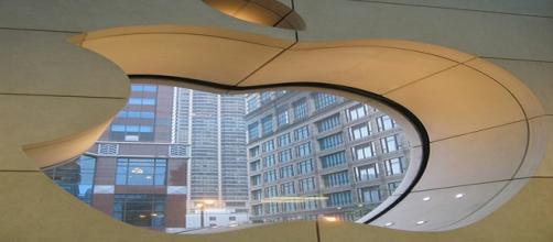 Apple visto desde las oficinas