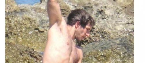 El actor ha sido pillado totalmente desnudo