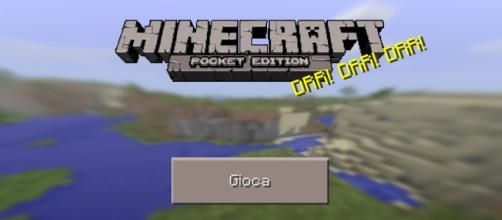 Schermata principale Minecraft Pocket Edition 0.12