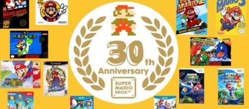 Super Mario completa 30 anos em 2015