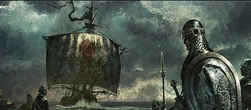 Uno de los barcos de los Greyjoy. TOMASZ JEDRUZEK