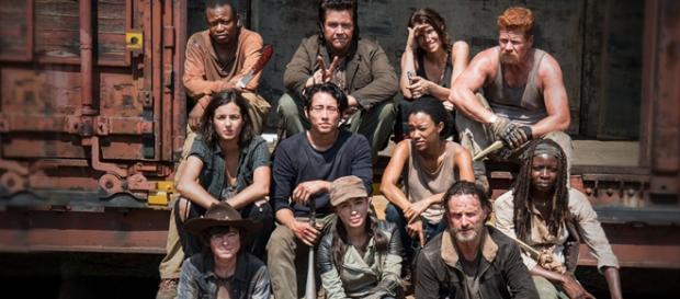 Elenco principal da quinta temporada da série.