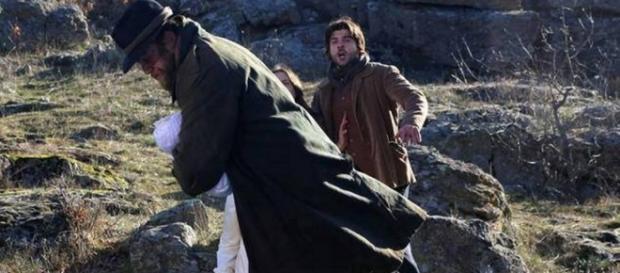 Il Segreto: Mesia si getta nel fiume con Esperanza