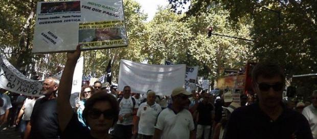 Manifestação dos Lesados do BES (Guilherme Guimas)