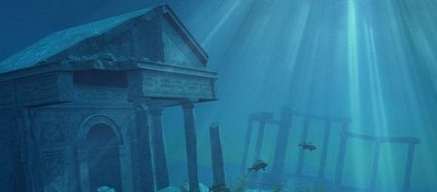 Oras scufundat in mare descoperit