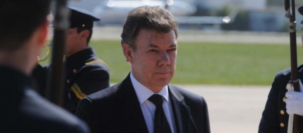 Presidente Santos en visita oficial a Argentina