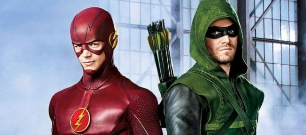 The Flash-Arrow: Barry Allen e Oliver Queen