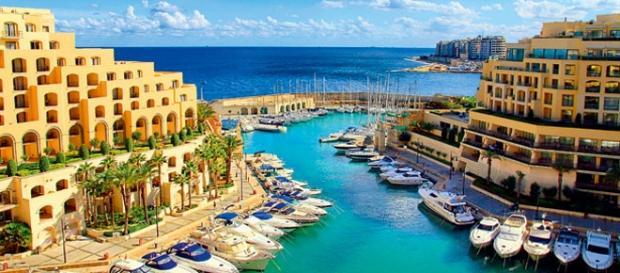Vista da ilha de Malta. Foto: Divulgação.