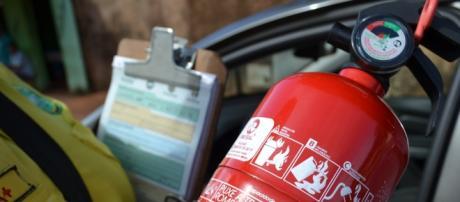 falta extintores de incêndio no mercado