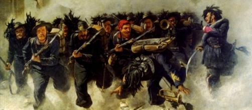 20 settembre 1870,bersaglieri a Porta Pia-Roma