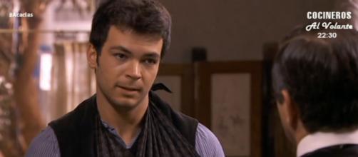 Una Vita: Pablo resta a lavorare con Leandro