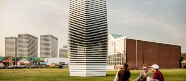 Torre. Imagens: Studio Roosegaarde