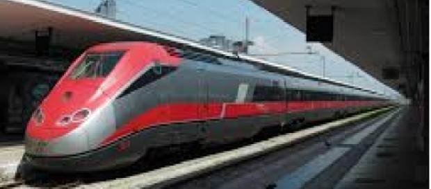 Il treno Frecciarossa arriva fino a Bari.
