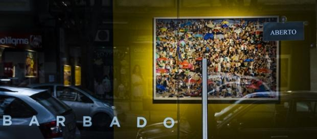 Imagem de Martin Parr na Barbado Gallery em Lisboa