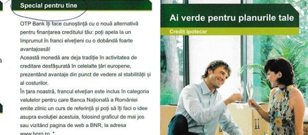 OFERTA MINCINOASĂ SI ILEGALĂ A OTP BANK