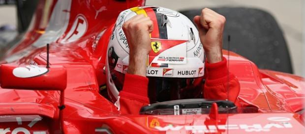 Victoria 43 del piloto alemán de Ferrari