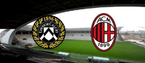 Diretta e info streaming Udinese - Milan