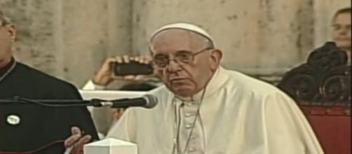 El Papa Francisco en su discurso a jóvenes cubanos