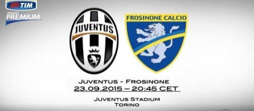 Juventus-Frosinone 23 settembre 2015: info utili