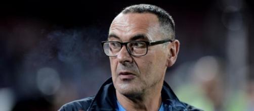 L'allenatore del Napoli: Maurizio Sarri.