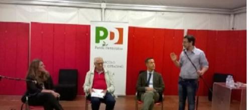 Luigi Berlinguer e la Puglisi a Ferrara