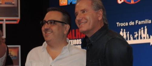 Rodrigo Carelli e Roberto Justus