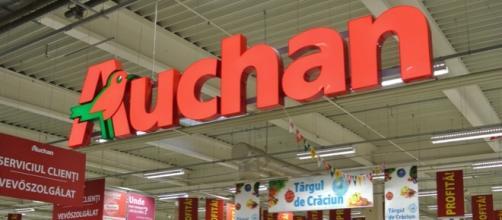 Un tipico negozio Auchan, catena francese