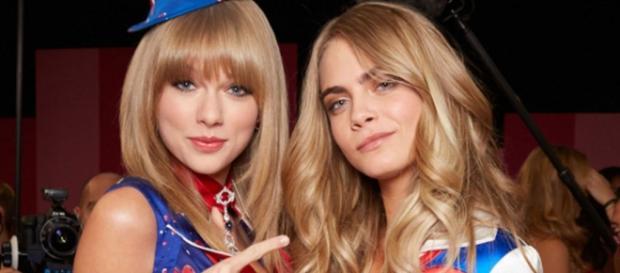 Cara Delevingne não suporta Taylor Swift.