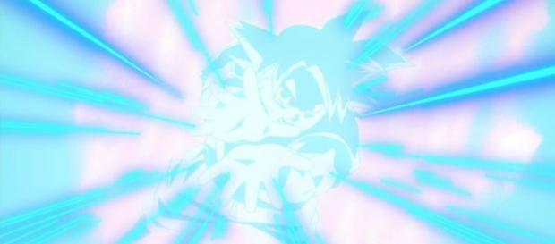Goku lanzado su máximo ataque contra Bills