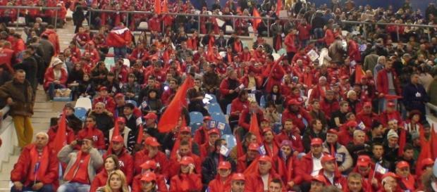 Miting USL la Polivalenta Craiova - ciumpalaci