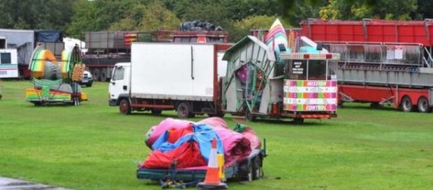 Terminou em tragédia a feira em Birmingham