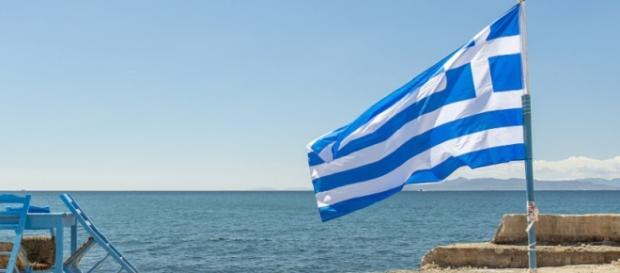 Una spiaggia deserta in Grecia