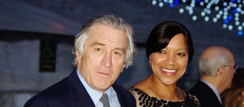 Robert De Niro junto a su mujer