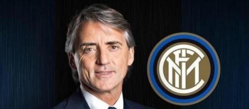 Roberto Mancini, allenatore dell'inter capolista