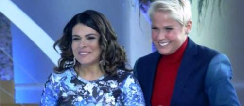 Xuxa e Mara Maravilha, participante de 'A Fazenda'
