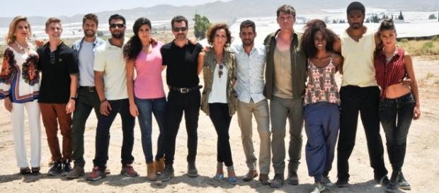 "Elenco de la serie ""Mar de plástico"" / Antena3.com"