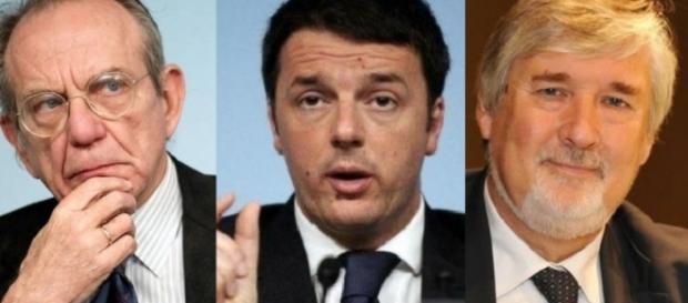 Padoan, Renzi e Poletti al lavoro sulle pensioni