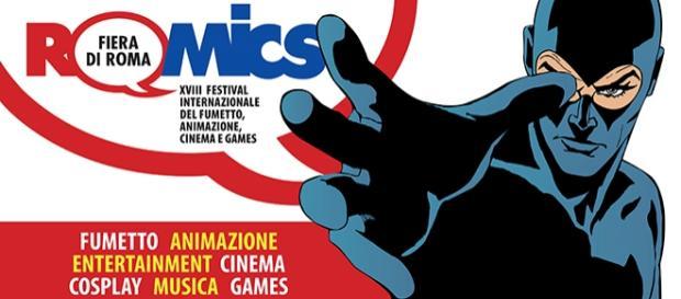 Romics alla Fiera di Roma ad ottobre 2015