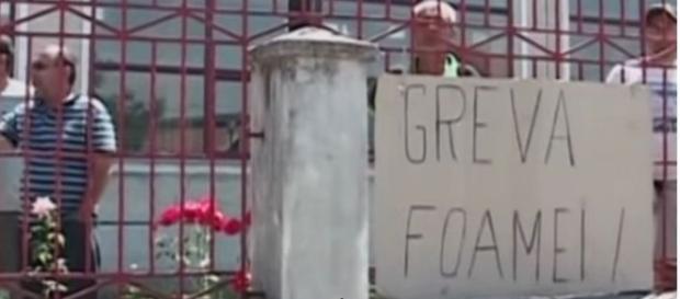 Român în greva foamei după ce a fost hărţuit