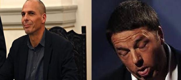 Varoufakis si adira per gli insulti di Renzi