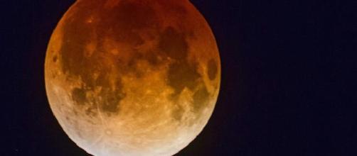 Eclipse lunar, 28 de septiembre. (Luna de sangre)